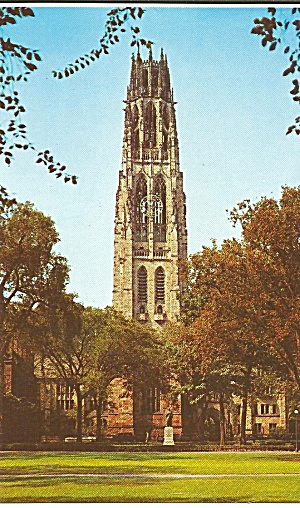 Yale University New Haven Ct Harkness Memorial Tower P31298