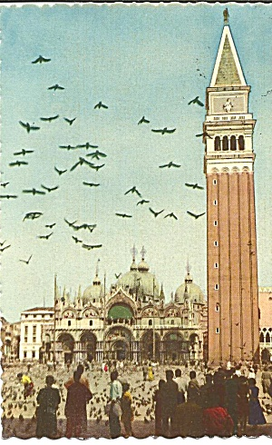 Church of S Marco and Tower Bell Platz Venice  Italy p31302 (Image1)