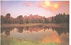 Sunset on Teton Range, Grand Teton National Park (Image1)