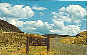 Sign in  Yellowstone National Park, Gardiner, Montana (Image1)