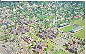 Aerial View of University of Oregon, Eugene (Image1)