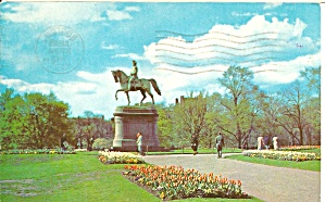 Boston Massachusetts Public Gardens Washington Statue p31374 (Image1)