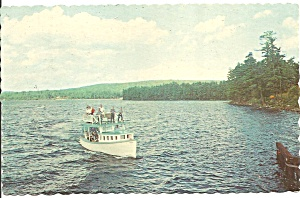 Long Lake At Naples,maine Mail Boat Jerrico