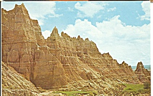 Towers of Cedar Pass Badlands National Monument  South Dakota p31397 (Image1)