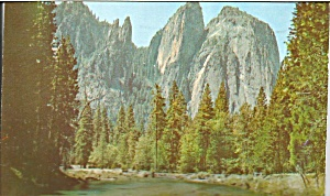 Cathedral Rocks and Spires, Yosemite National Park,California (Image1)
