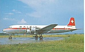 DC-6B Balair HB-IBZ c/n 44089/422 (Image1)