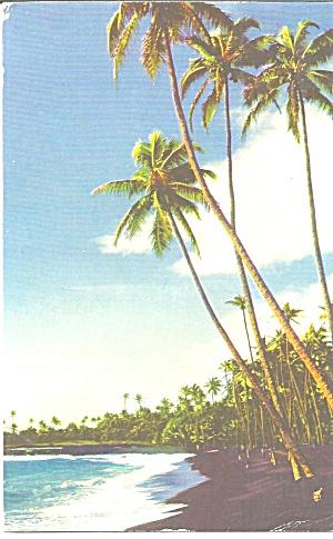 Puna Hawaii Black Sand Beach p31425 (Image1)