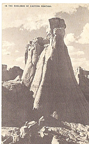 Badlands of Eastern Montana, CONOCO Toutguide Postcard (Image1)