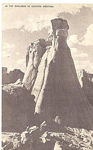 Badlands of Eastern Montana CONOCO Toutguide Postcard p31430 (Image1)