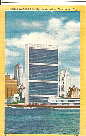 United Nations Secretarial Building New York City p31451 (Image1)
