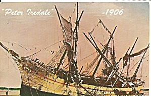 Bark Peter Iredale Stranded on Oregon Coast p31467 1906 (Image1)