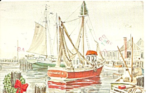 Fishing Boats from a Drawing p31470 (Image1)