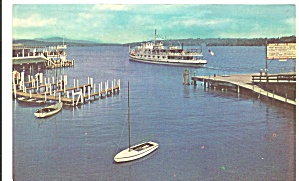 Steamer Mt Washington at Lake Winnipesaukee,New Hampshire (Image1)