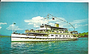 Steamer Mt Washington ,Lake Winnipesaukee,NH (Image1)