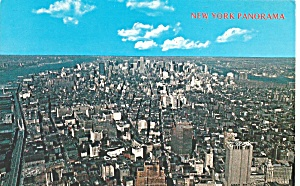 Aerial of Manhattan Looking to North, New York City (Image1)