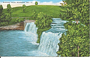 Elkhorn Falls, Richmond, Indiana (Image1)