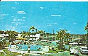 Cabanna Inn Sarasota Florida Postcard p31543 (Image1)