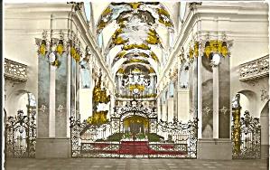 Abtelkirche  Amorbach I Odenwald  Germany Interior p31545 (Image1)