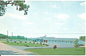 Cordle s Motel London Ohio Postcard p31547 (Image1)