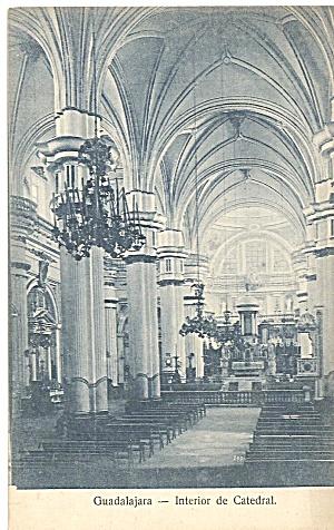 Cathedral in Guadalajra Mexico  Interior p31555 (Image1)