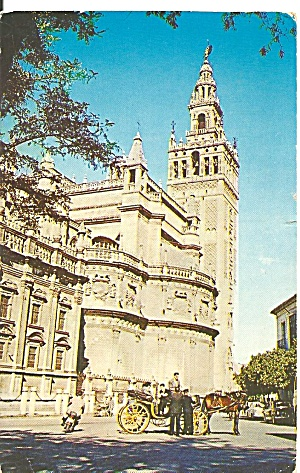 Cathedral Of Seville And Giralda American Export Lines P31556