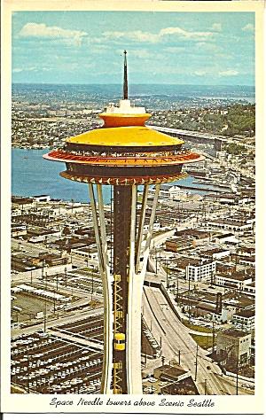 Seattle Washington Top of Space Needle p31607 (Image1)