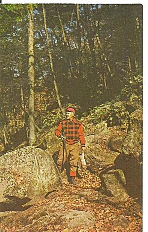 Poconos Pennsylvania Hunter in Autumn p31609 (Image1)