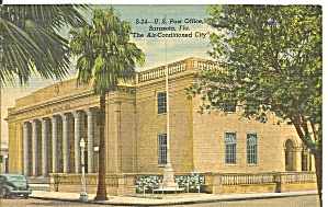 Sarasota, Florida Post Office (Image1)