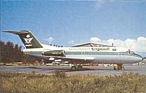 Fokker F-28-3000 at Dinard France Saudia Airlines p31637 (Image1)