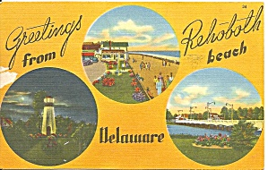Rehoboth Beach, Delaware Three Small Views (Image1)