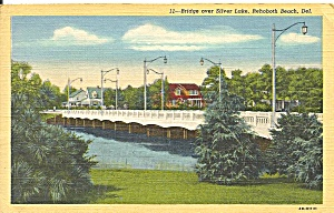 Rehoboth Beach, Delaware,Bridge Over Silver Lake (Image1)