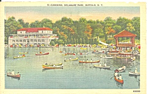 Buffalo New York Canoeing in Delaware Park p31695 (Image1)