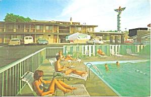 Spokane  Washington Thunderbird Lodge Postcard p31696 (Image1)