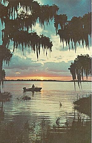 Florida Sunset on a Fisherman s Last Catch p31710 (Image1)