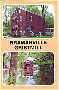Bramanville Gristmill Cobleskill NY Postcard p3172 (Image1)