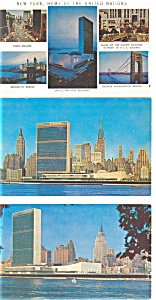 United Nations NY Postcards Lot 3 p3173 (Image1)