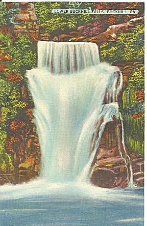 Buckhill Pennsylvania Lower Buckhill Falls p31748 (Image1)