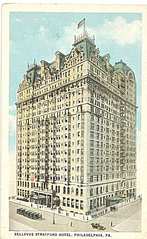 Philadelphia,Pennsylvania, Bellevue Hotel (Image1)