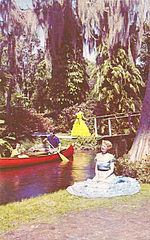 Cypress Gardens Florida Charming Southern Belles P31754