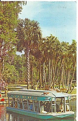 Silver Springs, Florida,glass Bottom Boats,1967