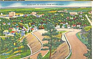 Rapid City South Dakota View from Skyline Drive p31763 (Image1)