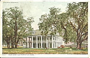 New Orleans, Louisinan, Four Oaks Plantation Home  1912 (Image1)