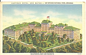 Hot Spings National Park AR Eastman Hotel and Baths p31770 (Image1)