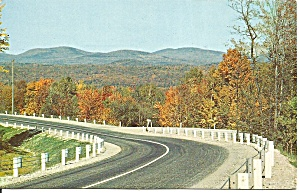 Winding Road In Pennsylvania Postcard P31785