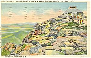 Whiteface Mt Adirondacks NY Postcard p3179 (Image1)