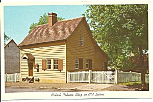 Old Salem North Carolina Miksch Tobacco Shop p31802 (Image1)