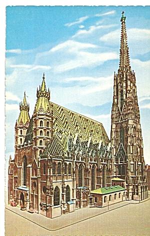Vienna Austria St Stephen Cathedral p31868 (Image1)
