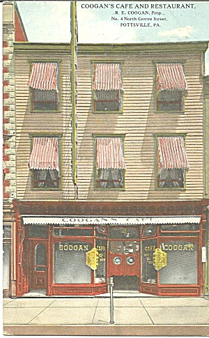 Coogan S Cafe Restaurant, Pottsville Pennsylvania P31919