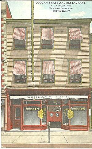 Coogan s Cafe Restaurant, Pottsville Pennsylvania p31919 (Image1)