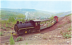 Old Steam Lokie Ashland PA Postcard p3191 (Image1)